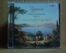 CD Paganini String Quartets 1-3 Amati Ensemble String Quartet Brilliant neu ovp