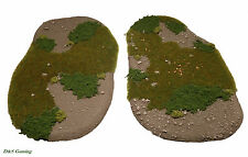 Wargames Scenery/Terrain Small Forest Bases Warhammer 40K, Warpath, Bolt Action