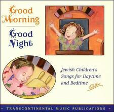 Good Morning, Good Night: Jewish Children's Songs For Daytime & Bedtim ExLibrary