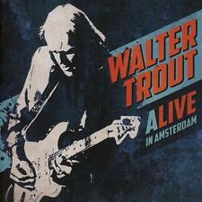 WALTER TROUT - ALIVE IN AMSTERDAM    - 2xCD NEU
