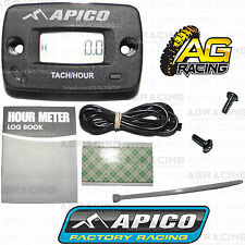 Apico Hour Meter Tachmeter RPM Without Bracket Motocross Enduro Motorcycle ATV
