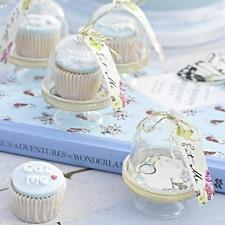 TRULY ALICE in Wonderland Tea/Birthday/Wedding Party MINI CAKE DOMES
