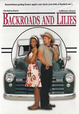 NEW Sealed Christian Inspirational WS DVD! Backroads and Lilies(Jefferson Moore)