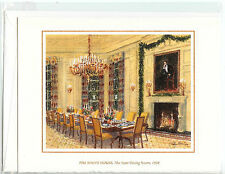 1998 White House OFFICIAL Christmas Card President BILL CLINTON *NEW*