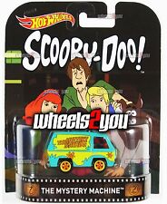 THE MYSTERY MACHINE Scooby Doo - 2016 Hot Wheels Retro Entertainment B Case
