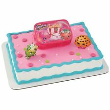 NEW SHOPKINS OFF TO SHOPPING CAKE KIT SET NEW RELEASE