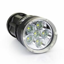 7000LM ! LED ZAKLAMP SKYRAY, EXTREEM FEL 60W SURVIVAL INCL ACCU LADER 6X T6  Z