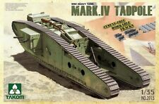 Takom 2015 1/35 British WWI Heavy Tank Mk.IV Tadpole Model Kit