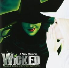 WICKED THE BROADWAY MUSICAL SOUNDTRACK OST CD STEPHEN SCHWARTZ