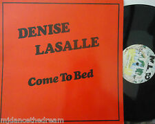 "DENISE LASALLE ~ Come To Bed ~ 12"" Single PS"
