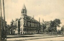Wisconsin, WI, Eau Claire, High School Early Postcard