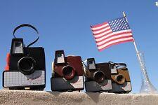set of FOUR   vintage bakelite cameras  from the 1950's,Imperial Debonair,