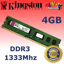 Memoria RAM DDR3 4GB 1333Mhz - Kingston ¡ NUEVA! - REVISAR COMPATIBILIDAD DENTRO