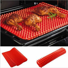 Non-Stick Silicone Pyramid Pan Baking Sheet Pastry Cooking Mat Oven Tray Liner