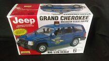Jeep, Michigan State Police, Lindberg Model Kit, 1/20 Scale. Sealed.