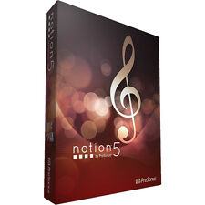 Presonus Notion 5 Music Notation Software *BRAND NEW* Music Composition
