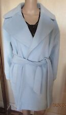 BABY BLUE OVERSIZED WINTER COAT SIZE 12 NEXT