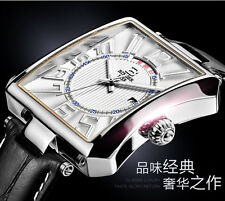 wrist watch elegant men luxury Binger brand waterproof leather strap Wrist watch