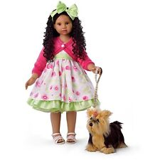 Ashton Drake Angela Sutter Kayla's Sunday Stroll Doll With Her Yorkie