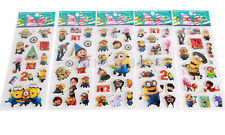 10 x Despicable Me Minion Stickers Party Bag Fillers Birthday party favours