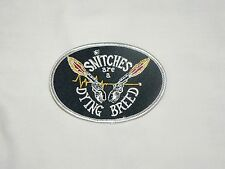 Outlaws MC SYLO AOA Snitches are a Dying Breed Patch support your local outlaws