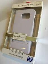 CASE-MATE TOUGH STAND Protector Case for Samsung Galaxy S6 White/Grey CM032331