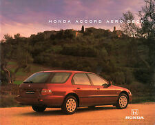 Honda Accord Aerodeck 1994-95 UK Market Sales Brochure 2.0i 2.2i LS ES