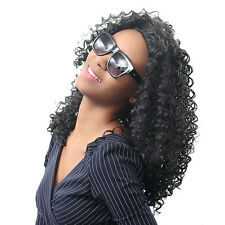 Long Synthetic Kinky Curly Hair Wig Afro Curly Synthetic Wig For Black Women