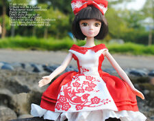 11'' Pretty Elegance Red Dress Doll Of Kurhn Chinese Barbie Doll Figure