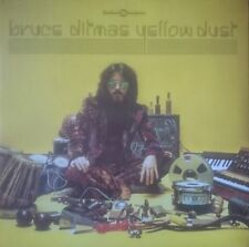 Bruce Ditmas Yellow Dust LP Finders Keepers Moog Drum Enja ECM
