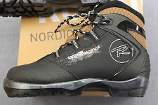 ROSSIGNOL BCx2 BACKCOUNTRY BLACK BROWN CROSS COUNTRY SKI BOOTS BC-NNN NIB EUR 37