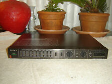 Sony SEH-310, Hybrid Stereo Spring Reverb & 9 Band Graphic Equalizer, Vintage