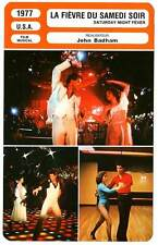 FICHE CINEMA : LA FIEVRE DU SAMEDI SOIR - J.Travolta 1977 Saturday Night Fever