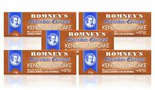 KENDAL MINT CAKE: 5 x 113g Large CHOCOLATE Covered Bars, ROMNEY's
