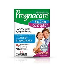 Vitabiotics Pregnacare His & Her Conception (60 Tablets - 30 His/30 Hers)
