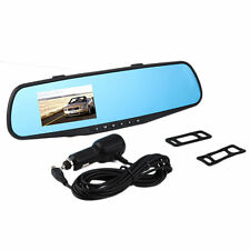 720P 2.8LTPS Mirror Video Dash Dual Car Video Recorder Camera Rear View DVR BY