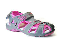 Superfit Tia Little Kid  Girl's Shoes Sandals, Dark navy/Neon pink, Size: 13