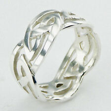 USA Seller Celtic Ring Sterling Silver 925 Best Deal Plain Jewelry Gift Size 7