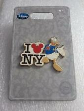 Disney Store New York Donald Duck I Love Heart NY Pin