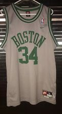Paul Pierce 1963 Gray Green Nike Rewind NBA Sewn Jersey Boston Celtics Men L #34