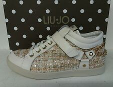 LIU JO SCARPA DONNA SHOES WOMAN SNEAKERS  CYRIL tessuto tweed n. 40