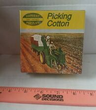 JOHN DEERE TRACTOR PICKING COTTON TRACTOR PUZZLE LICENSED BRAND NEW SEALED 80PCS