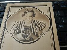 JOHN SAVILLE KODAK DEALER YORK ART DECO FOLDER FOLIO  CAMERA PHOTOGRAPHER b