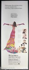 MAHOGANY 1975 US INSERT POSTER MOTOWN DIANA ROSS BILLY DEE WILLIAMS BERRY GORDY