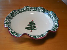 Furio CHRISTMAS TREE 10 in Scalloped Bowl
