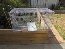 Animal Wire Cage Trap Feral Fox/Possum /Rabbit/Cat Pest Control