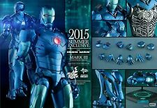 """HOT TOYS 1/6 SCALE 12"""" IRON MAN MARK 3 III Stealth DIECAST ACTION FIGURE MMS314"""
