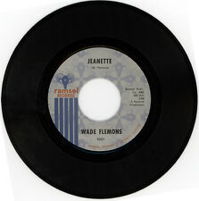 "WADE FLEMONS  ""JEANETTE c/w WHAT A PRICE TO PAY""  NORTHERN SOUL CLASSIC LISTEN"