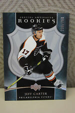 JEFF CARTER 2005-2006 NHL ARTIFACTS ROOKIE CARD 230/750 - L.A. KINGS  - MINT!