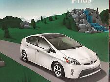 Mint Condition  2014 Toyota PRIUS/ EPA-estimated 50 mpg's CAR Dealer Brochure 14